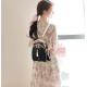 New Korean version Girl Student Backpack-Black