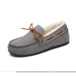 Winter New Grey Warm shoes for Women