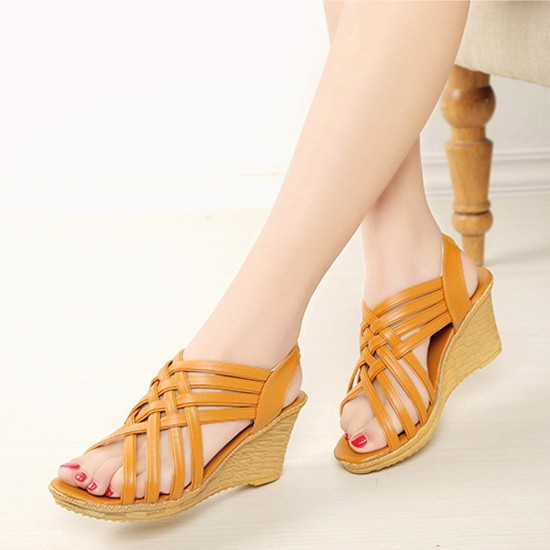 Sandals Platform Border High Cross Buy S Ixzupk 08orfashion Wedge wP8k0On