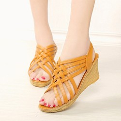 High Platform Cross Border Wedge Sandals