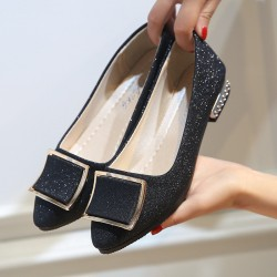 Low Heeled Comfort Flat Shoes