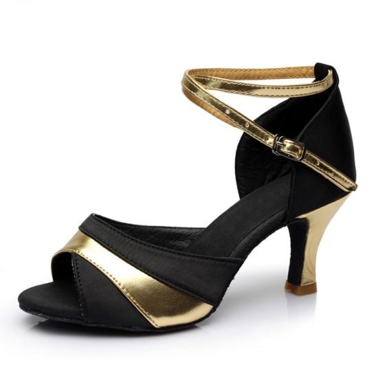Ladies Bellroom Latin Contrast Sandals