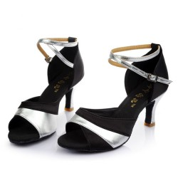 Ladies Bellroom Latin Contrast Sandals