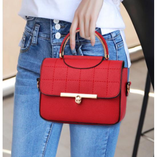 New Fashion Luxury Women Shoulder Mini Bag - Red