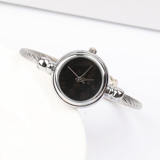 Silver Rope Strap Trending Bracelet Watch