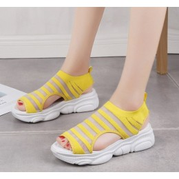 Woman Thick Bottom Relaxing Open Toe Sports Sandals