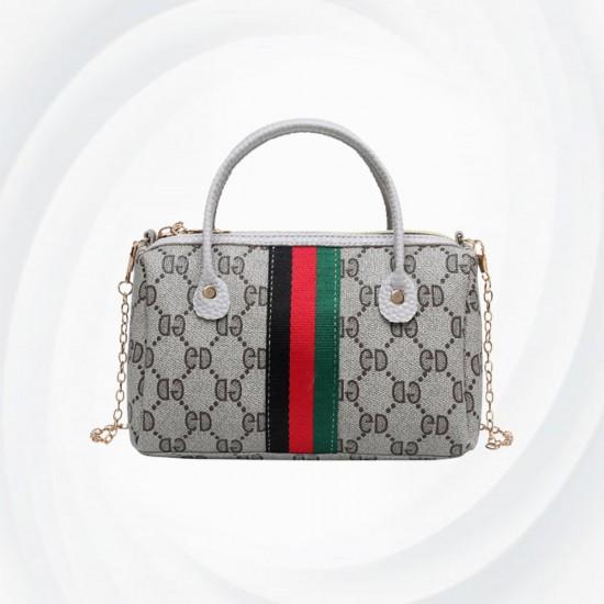 Latest Fashion Women Wild Chain Messenger Shoulder Bag-Grey