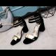 Black Color Open Toed Zipper Sandals For Women